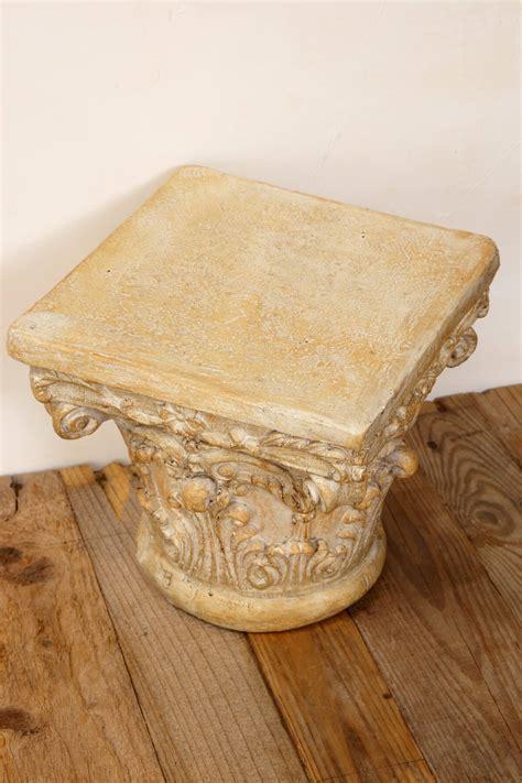 table top display risers corinthian pedestal riser 10x10x9in