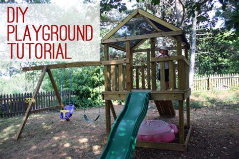 build  diy wooden playgroundplayset