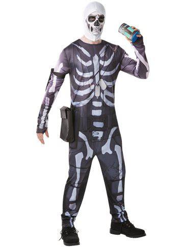 fortnite skull trooper adult costume party delights