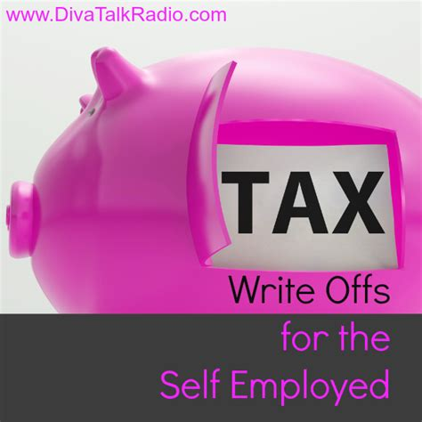 Tax Write Offs For The Self Employed