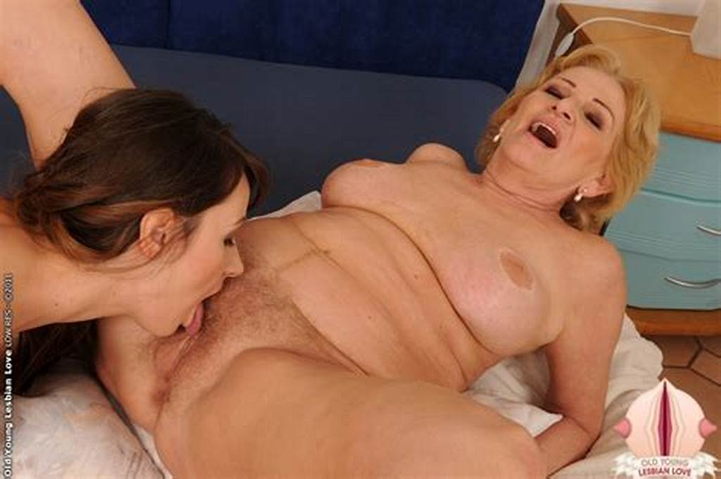 #Shy #Brunette #Licked #N #Teached #By #Old #Blonde #Woman