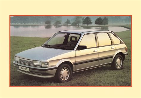 1984 Austin Maestro/Montego brochure