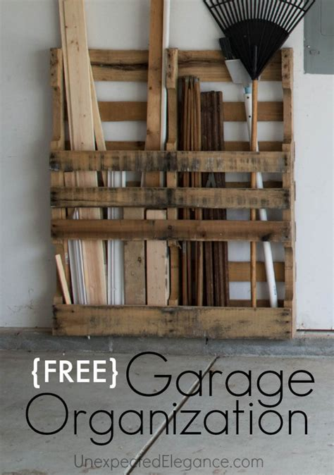 free garage storage just one more thing pallets are for elegance