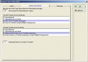Urlaub Berechnen Teilzeit Stunden : zeiterfassungs administration pccaddie ~ Themetempest.com Abrechnung
