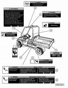 Safety Decals  U2013 Ca 295 And Xrt 1550  Gasoline Vehicles