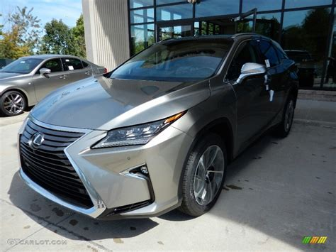silver lexus 2017 2017 atomic silver lexus rx 350 awd 115720852 photo 3