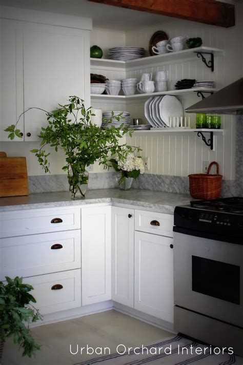 white open kitchen 56 best kitchen open shelves images on pinterest cooking 276 | 08696cc1902104a5cf0c94959267d814 open cabinets white kitchen cabinets