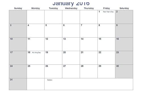 download a calendar template for microsoft word
