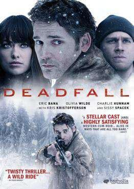 Deadfall for Rent, & Other New Releases on DVD at Redbox