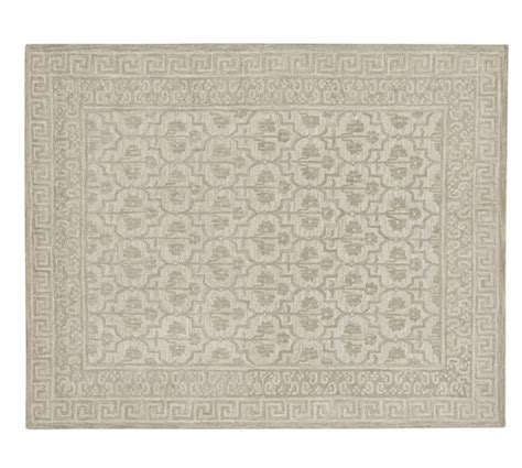 tufted wool rug braylin tufted wool rug ivory pottery barn
