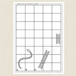 Design your own snakes and ladders cleverpatch for Make your own snakes and ladders template