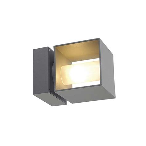 square turn outdoor wall sconce by slv lighting 3230674u