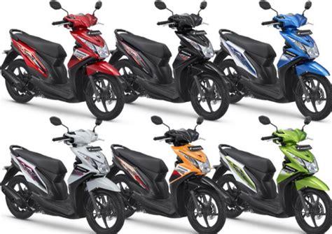Motor Scoopy Terbaru 2016 by Daftar Harga Motor Matic Honda Terbaru 2016 Beat Scoopy