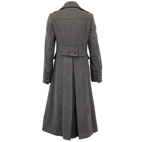 Ladies Wool Cashmere Coat Womens Jacket Outerwear Trench Overcoat Winter Lined | eBay