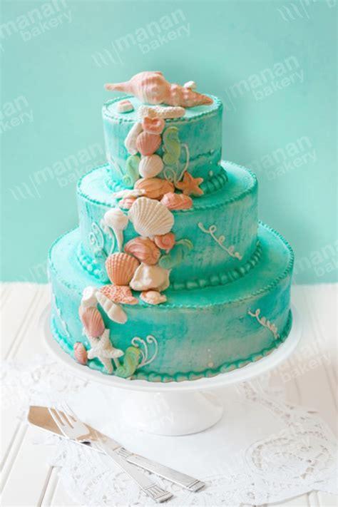 wedding cake ocean shells las vegas wedding cakes