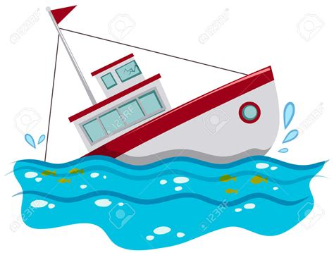 Cartoon Boat Sinking by Sinking Ship Clipart Clipground