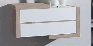 Meuble Vide Poche : coti design g rone cr me et blanc meubles d 39 entr e sur ~ Teatrodelosmanantiales.com Idées de Décoration