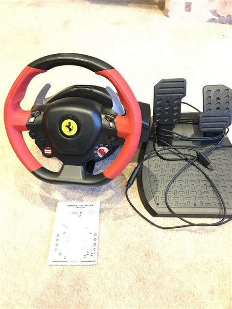 Logitech g920 steering wheel for a xbox/pc for beginners unboxing and setup. Super Car: Thrustmaster Ferrari 458 Spider Racing Wheel For Xbox One Instructions