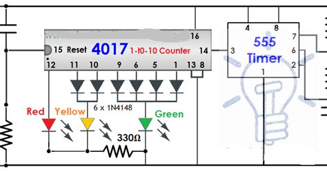Traffic Light Controlling Circuit Electrical Engineer