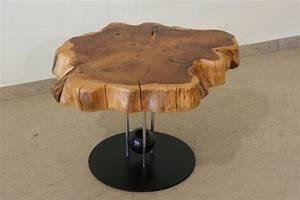 tisch aus baumscheibe baumscheiben pinterest With tisch aus baumscheibe