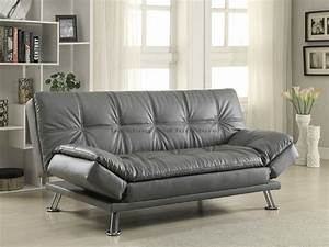 coaster 500096 dilliston gray sofa bed futon With fulton sofa bed