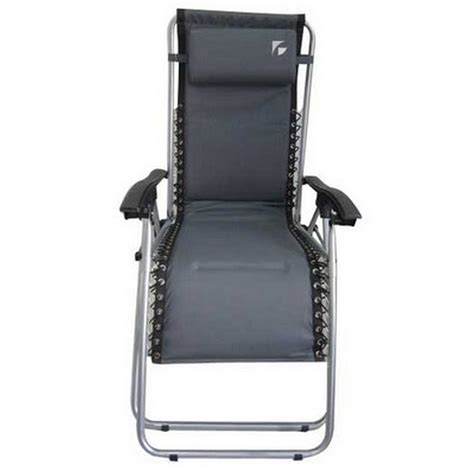zero gravity cing chair uk active sport zero gravity chair grey