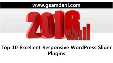 Top 10 Excellent Responsive Word Press Slider Plugins