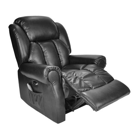 hainworth leather reclining powered electric recliner