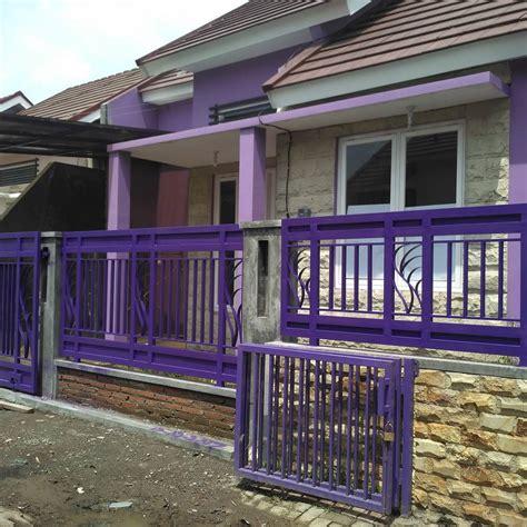 gambar gambar desain pagar rumah minimalis warna putih