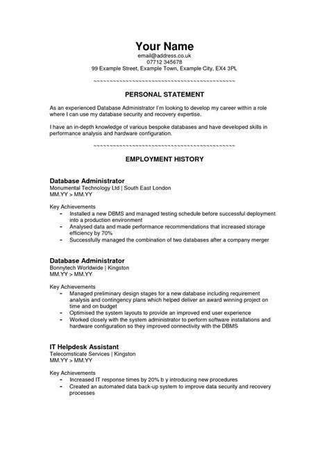 Resume Personal Statement by Best 25 Personal Brand Statement Exles Ideas On