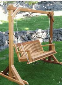 free standing swing Looking for someone to build a free standing swing frame ...