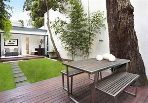 Petit Jardin Moderne : maison moderne jardin ~ Dode.kayakingforconservation.com Idées de Décoration