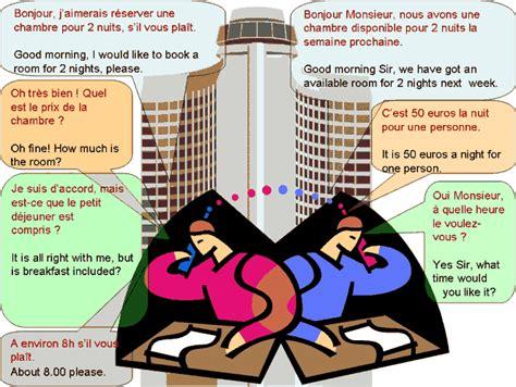 reserver une chambre d hotel dialogue réserver une chambre d 39 hôtel