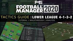 Football Manager 2020 Tactics Guide  Lower League 4