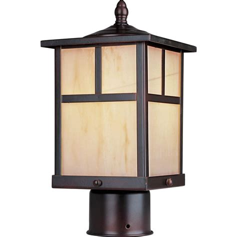 outdoor l post lights maxim lighting coldwater 1 light burnished outdoor pole