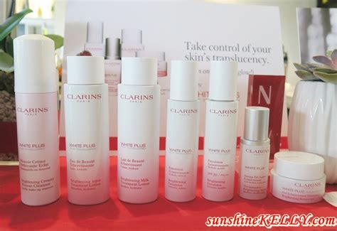 fashion lifestyle travel clarins white plus translucency range