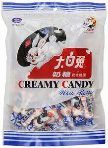 White Rabbit Creamy Candy 6OZ. Bag - Happy China Trading ...