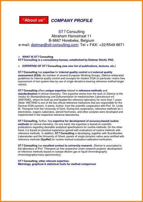 Sle Resume Leadership Profile Template by Management Profile Template 28 Images Management
