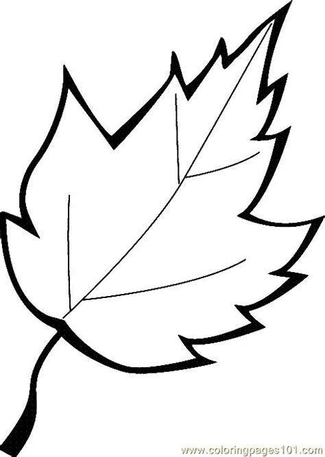 printable coloring image leaf coloring page  leaf