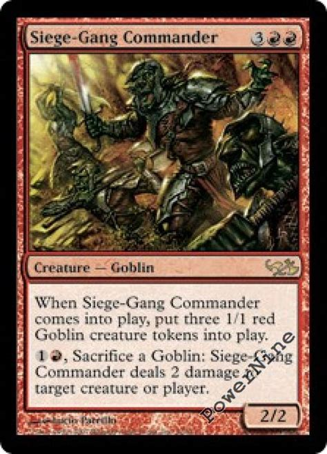 goblin commander deck 2015 4 precon foil siege commander duel decks elves vs