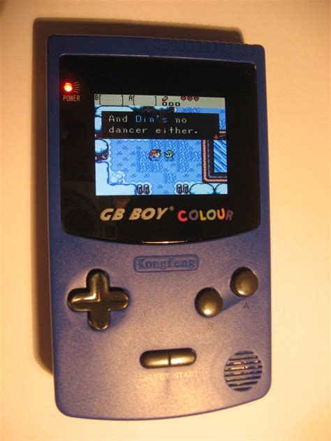 gb boy backlit game boy color clone usd  shipping