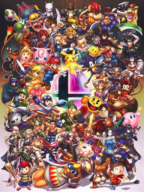 Smash Brothers By Hybridmink On Deviantart