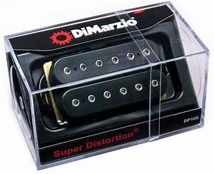 Dimarzio Dp100 Super Distortion Humbucker Guitar Pickup