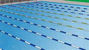 Outdoor Competition Swimming Pool Background Vector Clip