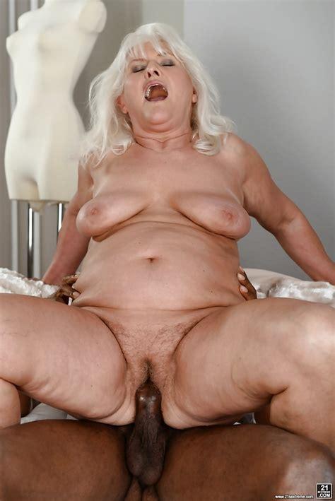 fat granny judi banging big black dick during hardcore interracial sex