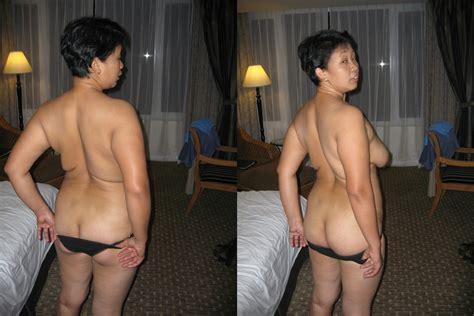 Indonesian Amateur Mature Pembantu Dressed Undressed