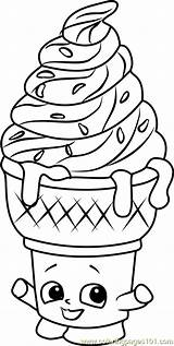 Coloring Ice Cream Shopkins Shopkin Unicorn Dream Squishy Kleurplaat Printable Cone Colorear Dibujos Characters Draw Ijs Pintar Libros Toys Kleurplaten sketch template
