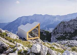 Gorgeous Prefab Alpine Shelter Offers Incredible Panoramic ...