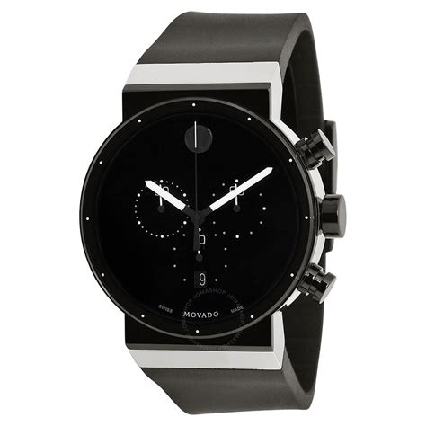watches for men movado sapphire synergy black dial chronograph men 39 s watch