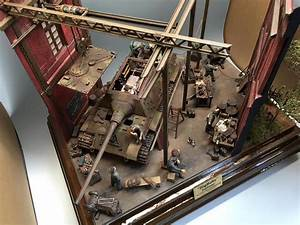 Miniart  U2013 35011 German Tank Repair Crew   35546 Industrial